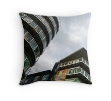 insomniac photos - rising buildings  Throw Pillow