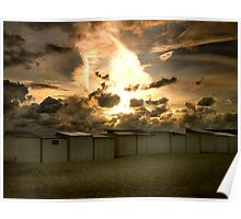 Angelic Sunset Poster
