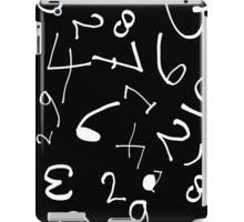 numbers2 iPad Case/Skin