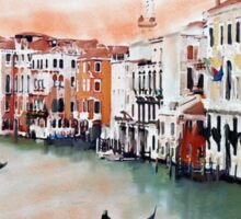 Water ways of Venice Sticker