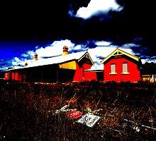 Lue Station by muz2142