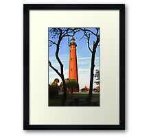 Ponce de Leon Light Framed Print