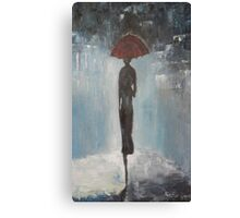 Alone in the night Canvas Print