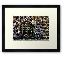 Fortress Kalemegdan Torture Chamber Framed Print