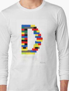 """""""D"""" Long Sleeve T-Shirt"""