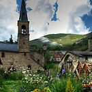 Graves at 'La Grave' France by Beth A