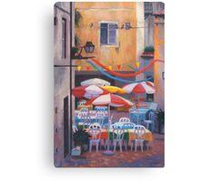Lisbon Terrace Canvas Print
