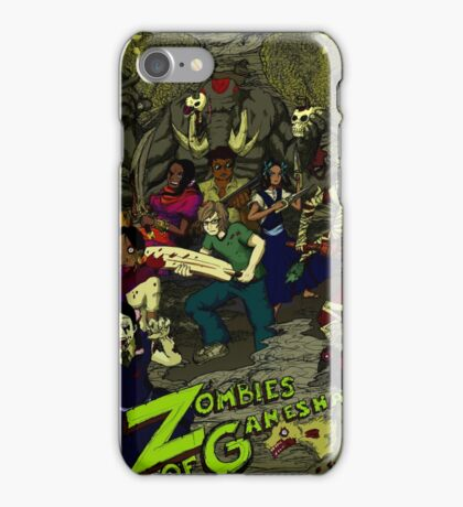 Zombies of Ganesha iPhone Case/Skin