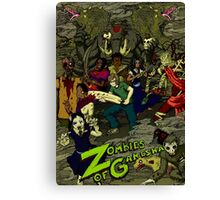Zombies of Ganesha Canvas Print