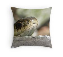 garden snake Throw Pillow