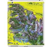 Happy Lilac abstract iPad Case/Skin