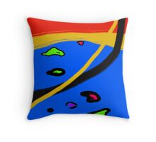 STREAMS Throw Pillow