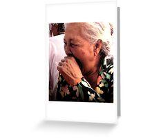 Murni's Aunt, Ubud, Bali Greeting Card