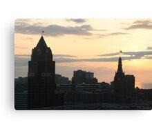Good Morning Milwaukee Canvas Print