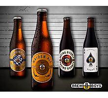 Beer Lineup Photographic Print