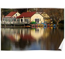 Daylesford Boathouse Poster