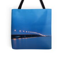 Bay Bridge to Ocean City Maryland Tote Bag