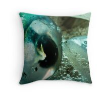 Squid Eye Macro Throw Pillow