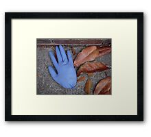 Touch Me Framed Print