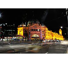 Melbourne - Flinders Street Station Photographic Print