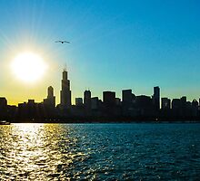 Sunset CHICAGO by CaptureLight