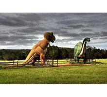 Dinosaur Traps Photographic Print