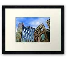 Library Exterior No 5 Framed Print