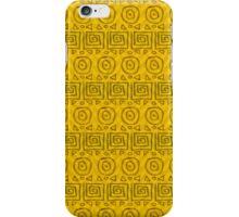 fantasie in geel iPhone Case/Skin