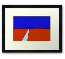 Highway Framed Print