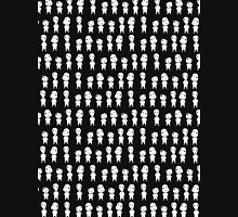 Mononoke pattern -black- Unisex T-Shirt
