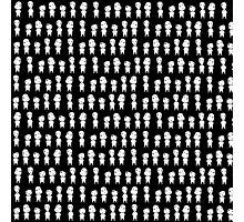 Mononoke pattern -black- Photographic Print