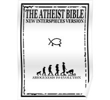 THE ATHEIST BIBLE Poster