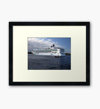 Norwegian Pearl-Victoria Framed Print