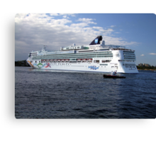 Norwegian Pearl-Victoria Canvas Print