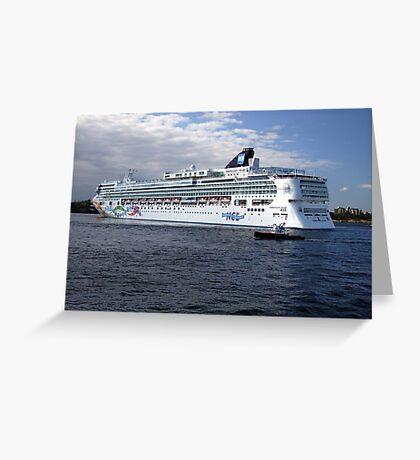 Norwegian Pearl-Victoria Greeting Card