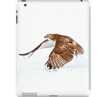 Red-tailed Hawk - Uprising iPad Case/Skin