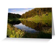 Phantom Lake Greeting Card