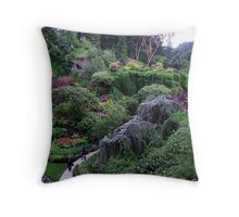 Sunken Garden No.2 Throw Pillow