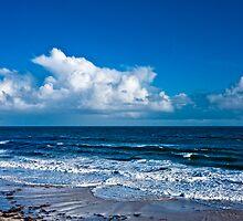 Cloudscape by the Sea #2 by AllshotsImaging