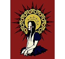 Madness Maiden (design for non black tee) Photographic Print