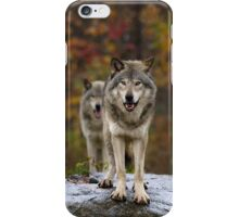 Double Trouble - Timber Wolves iPhone Case/Skin