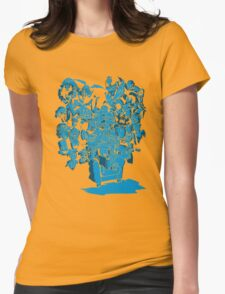 Tales of Video Games (blue) Womens Fitted T-Shirt