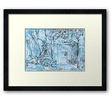 Elizabeth Bay Grotto Framed Print