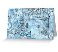 Elizabeth Bay Grotto Greeting Card