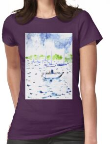 Ebb Tide Womens Fitted T-Shirt