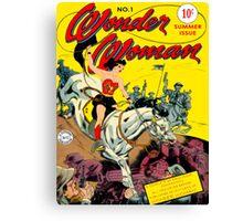Wonder Woman NO. 1 Canvas Print