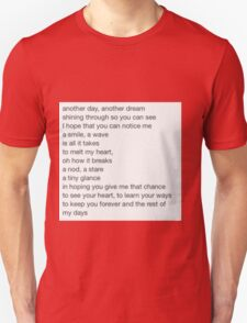 Mollys Poem T-Shirt