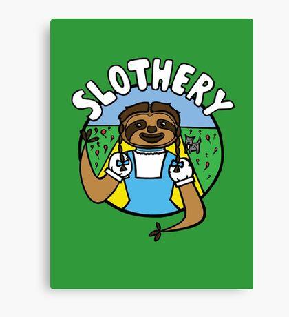 Slothery Canvas Print