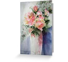 French Roses...... Greeting Card