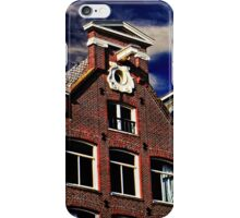 Buildings in Amsterdam Fine Art Print iPhone Case/Skin